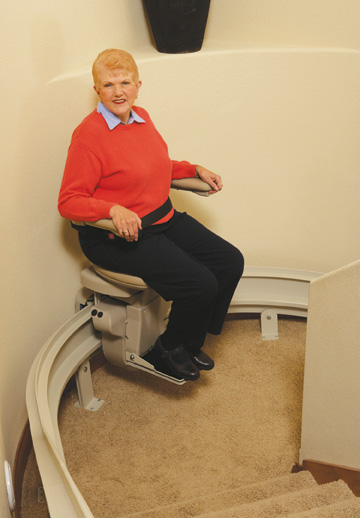 stair lifts bruno indoor residential stairlifts and acorn curve
